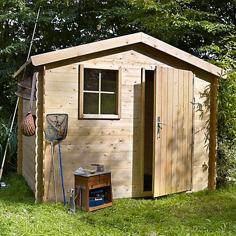 Abri serre carport garage rangement castorama - Castorama abris de jardin luoman ...