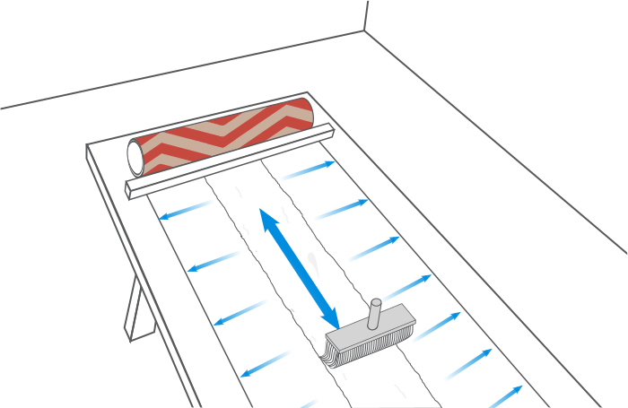 comment poser du papier peint castorama. Black Bedroom Furniture Sets. Home Design Ideas