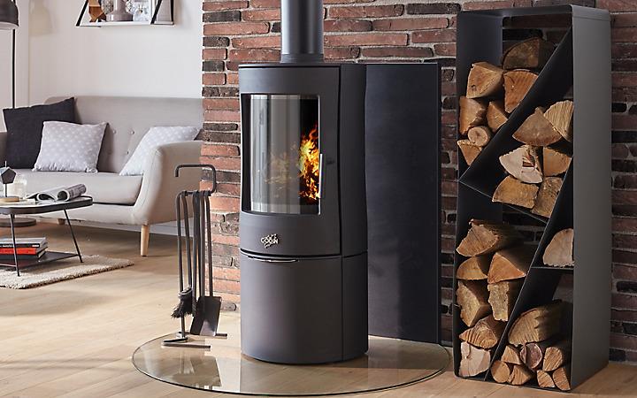 chauffage bois et bois de chauffage castorama. Black Bedroom Furniture Sets. Home Design Ideas