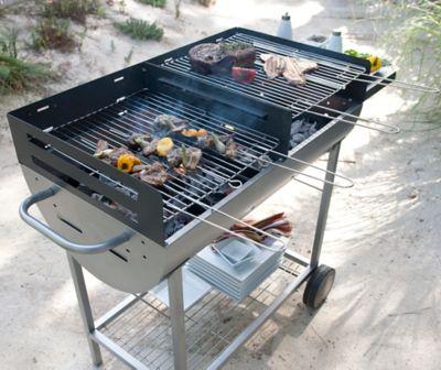 Le Barbecue Charbon De Bois