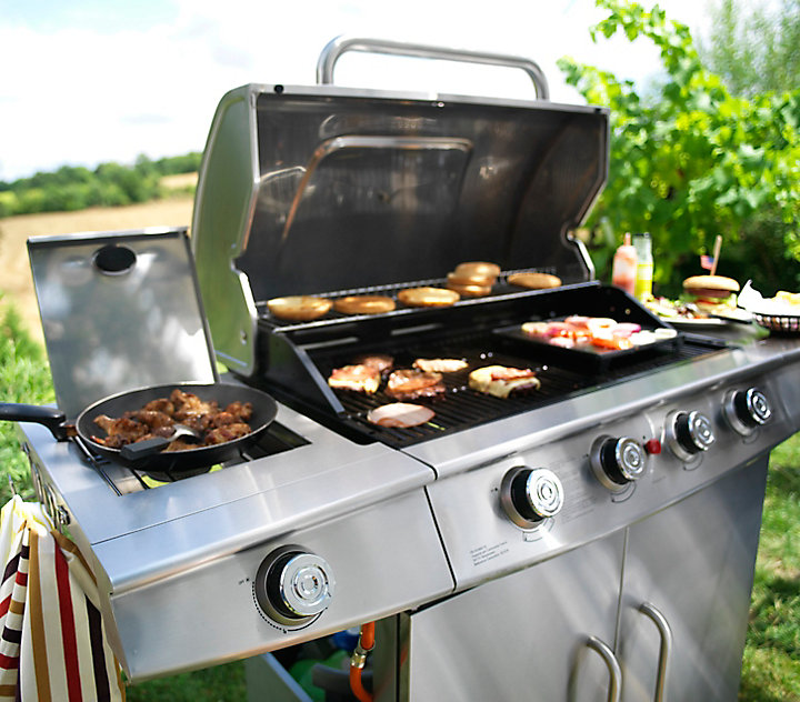 Le barbecue à gaz