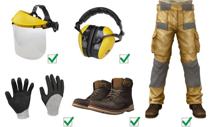 Travailler avec un équipement de protection