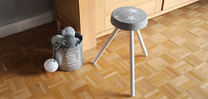 Fabriquez un tabouret de ciment