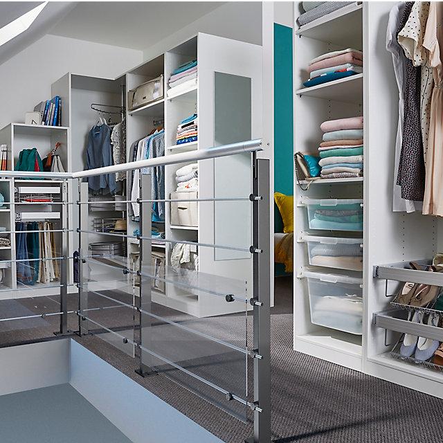 un dressing en sous pente castorama. Black Bedroom Furniture Sets. Home Design Ideas