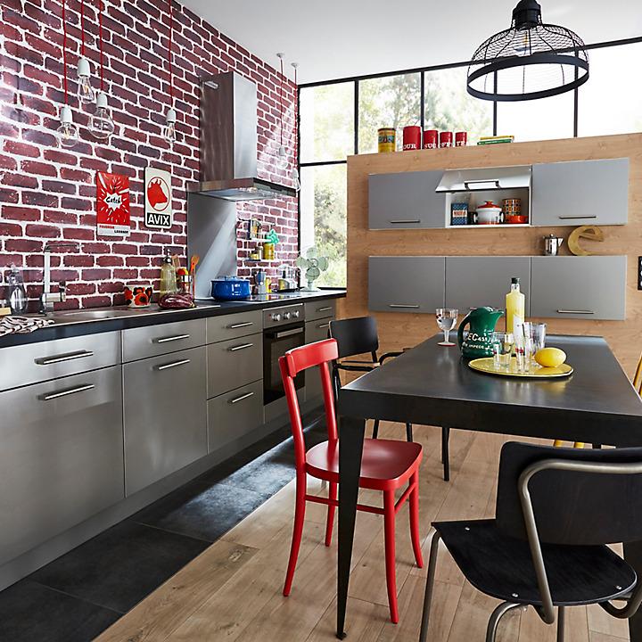 Les meubles de cuisine COOKE & LEWIS Ice | Castorama