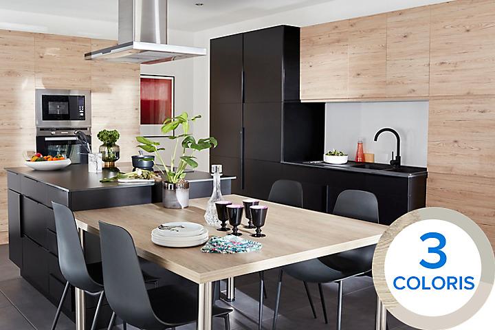 meuble de cuisine castorama. Black Bedroom Furniture Sets. Home Design Ideas
