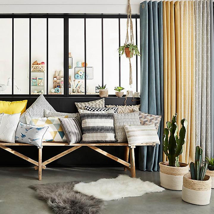 Nouveautés rideaux & coussins