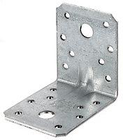 Équerre renforcée galvanisée 70 x 70 x 55 mm
