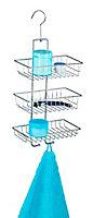 Étagère de douche filaire chromée Wenko Nivala 3 niveaux