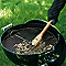 Brosse avec manche bois WEBER pour barbecue