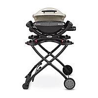 Chariot pliable pour barbecue gaz Weber Q1000 et Q2000