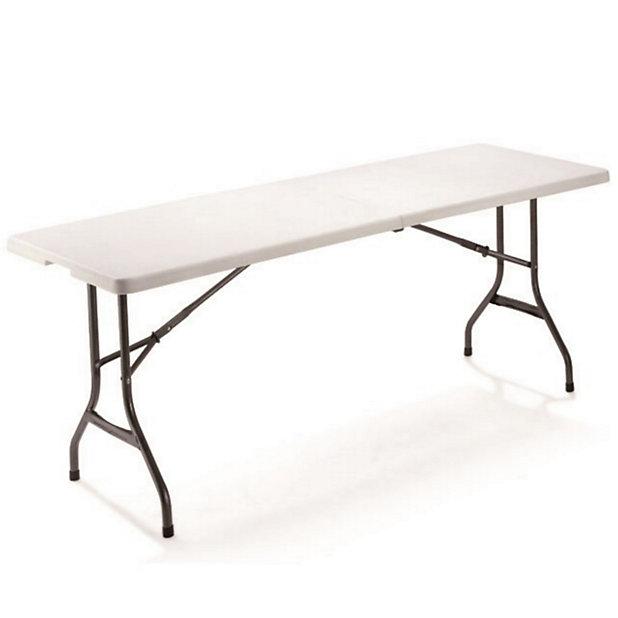 Table De Jardin Valise Memphis 181 X 76 Cm Castorama