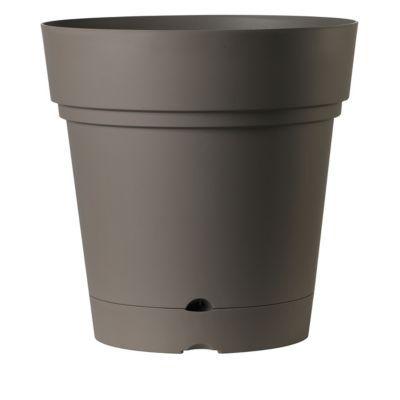 vase rond r serve d 39 eau plastique deroma samba taupe 58. Black Bedroom Furniture Sets. Home Design Ideas