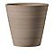 Pot rond terre cuite Deroma Conico primitivo grafite Ø43 x h.41 cm