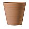Pot rond terre cuite Deroma Conico primitivo white Ø43 x h.41 cm
