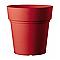 Vase rond plastique DEROMA Samba griotte Ø45 x h.45 cm
