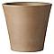 Vase rond terre cuite DEROMA Cono moka Ø31 x h.28,4 cm