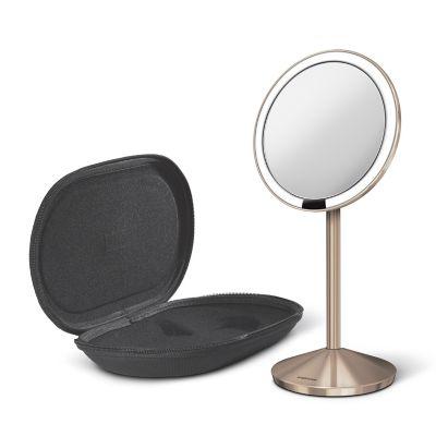 Miroir rond grossissant à capteur 12 cm Simplehuman