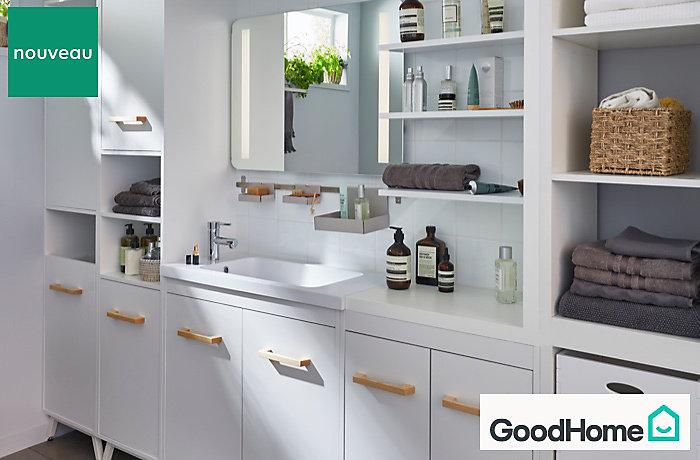 Les meubles de salle de bains ladoga castorama - Meubles de salle de bains castorama ...