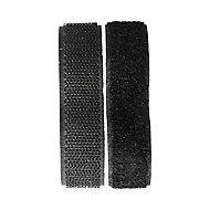 1 bande adhésive noire 75 cm