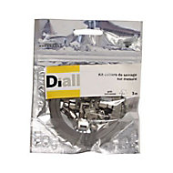 1 kit collier de serrage sur mesure inox Diall 3 m