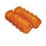 10 boîtes d'encastrement Legrand 1 poste multimatériau