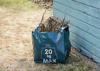 10 sacs pour déchets de jardinage 120L