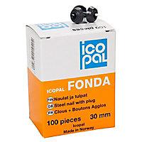 100 clous protection soubassement Monarflex