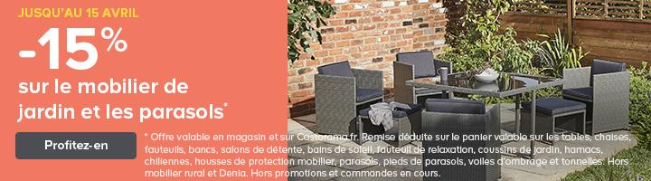 Parasol, tonnelle, store de terrasse et voile d'ombrage | Castorama