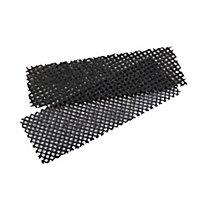 2 grilles à poncer pour carrelage 6 x 17,5 cm
