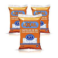 2 sacs de sel régénérant pour adoucisseur 10kg + 1 gratuit