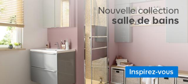 Meuble de salle de bains castorama for Faire un plan salle de bain