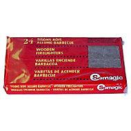 24 allume-feu tison bois Somagic