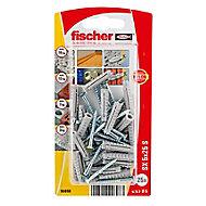 25 chevilles pour murs pleins Fischer Ø5x25mm