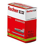25 chevilles universelles Fischer Ø6x35mm
