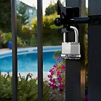 3 cadenas Acier laminé Master Lock 45 x 50 mm