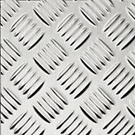3 plaques adhésives aluminium damier 30 x 30 cm