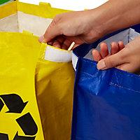 3 sacs de recyclage ménagers