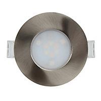 3 spots à encastrer Colours Lemeta blanc chaud Led intégrée + télécommande