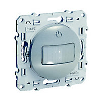 Interrupteur automatique Schneider electric Odace Aluminium