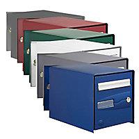Boîte aux lettres 2 portes Decayeux Oceanis Bleu Ral 5003