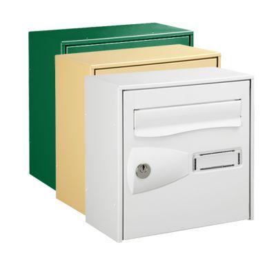 boite aux lettres 1 porte blanche
