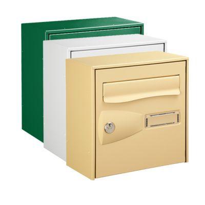 boite aux lettres 1 porte beige