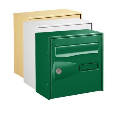 boite aux lettres 1 porte vert