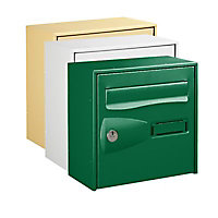 Boîte aux lettres 1 porte Diall Vert