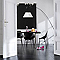 Peinture murs et boiseries Dulux Valentine Crème de couleur blanc satin 0,5L