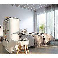 Peinture murs et boiseries Dulux Valentine Crème de couleur gris tendance satin 0,5L