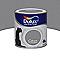 Peinture murs et boiseries DULUX VALENTINE Crème de couleur titanium satin 0,5L