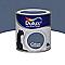 Peinture murs et boiseries Dulux Valentine Crème de couleur bleu ardoise satin 0,5L