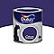 Peinture murs et boiseries DULUX VALENTINE Crème de couleur bleu éclipse satin 0,5L